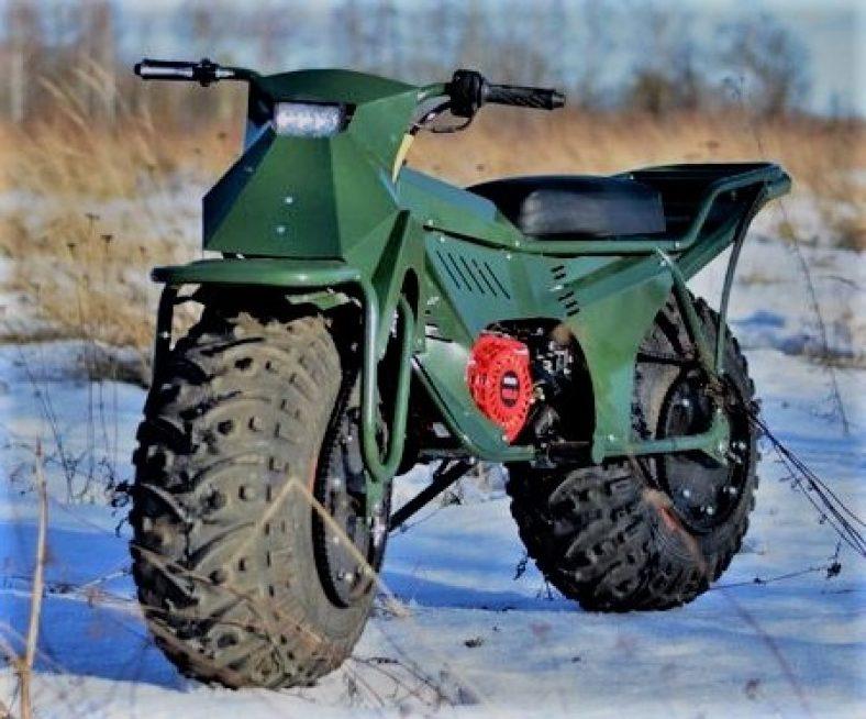 Amazing survival motorcycle
