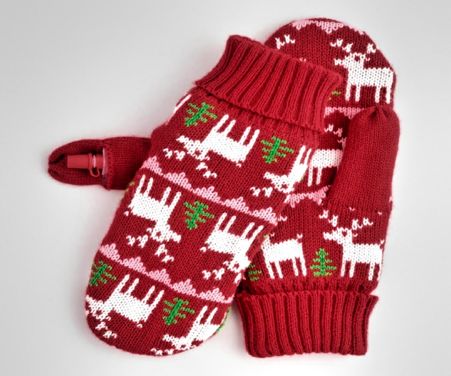 Hidden Flask Mittens
