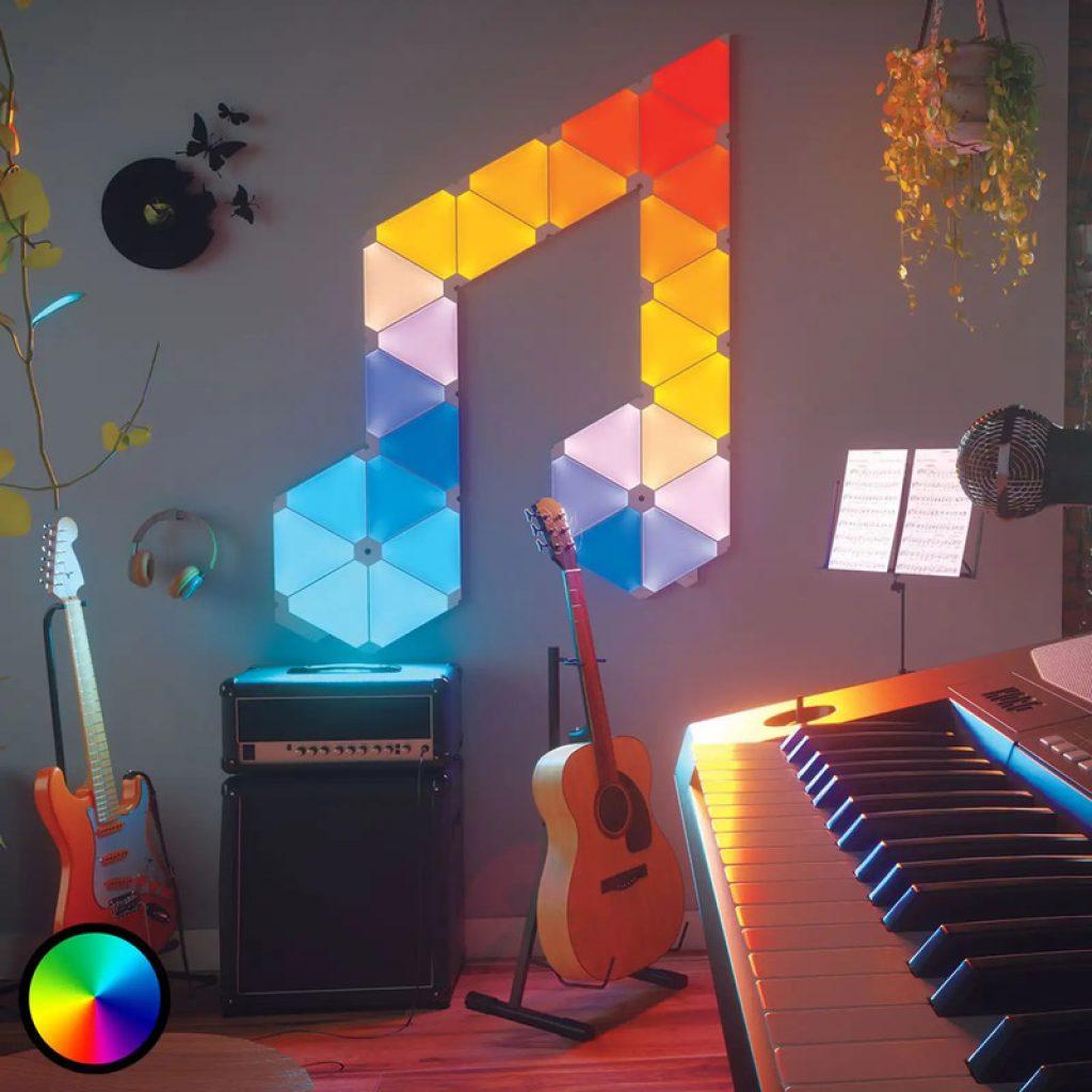 nanoleaf light panels rhythm