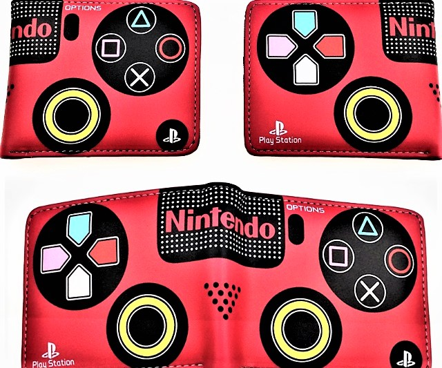 Nintendo PlayStation wallet