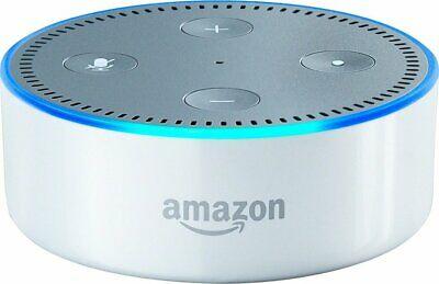 Amazon Echo Dot 2nd Gen Home Music Smart Assistant Speaker w/ Alexa - White