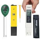 Digital LCD TDS&EC Meter pH Tester Aquarium Hydroponic Water Monitor Soil Test