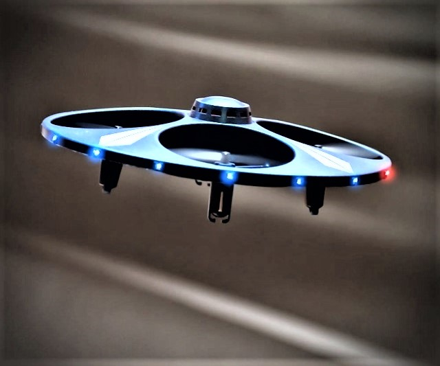 Light Up Motion Control Ufo Drone