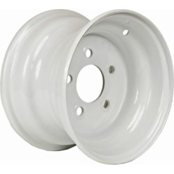 Martin Wheel 5-Hole Steel Trailer Wheel, 10x6