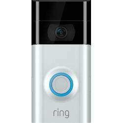 Ring - Video Doorbell 2 (8VR1S7-0EN0) - Satin Nickel (Pre-Owned)