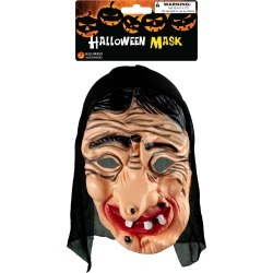 Smiling Witch Halloween Mask