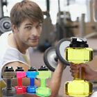 Water Bottle 2.5L Dumbbell Shaped Sport Drink Exercise Gym Protein Shake Weight