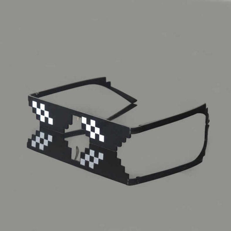 Mlg Glasses Fashion Pixelated Sunglasses Men Women Brand Designer Thug Life Party Quality Funny Mosaic Vintage.jpg q50
