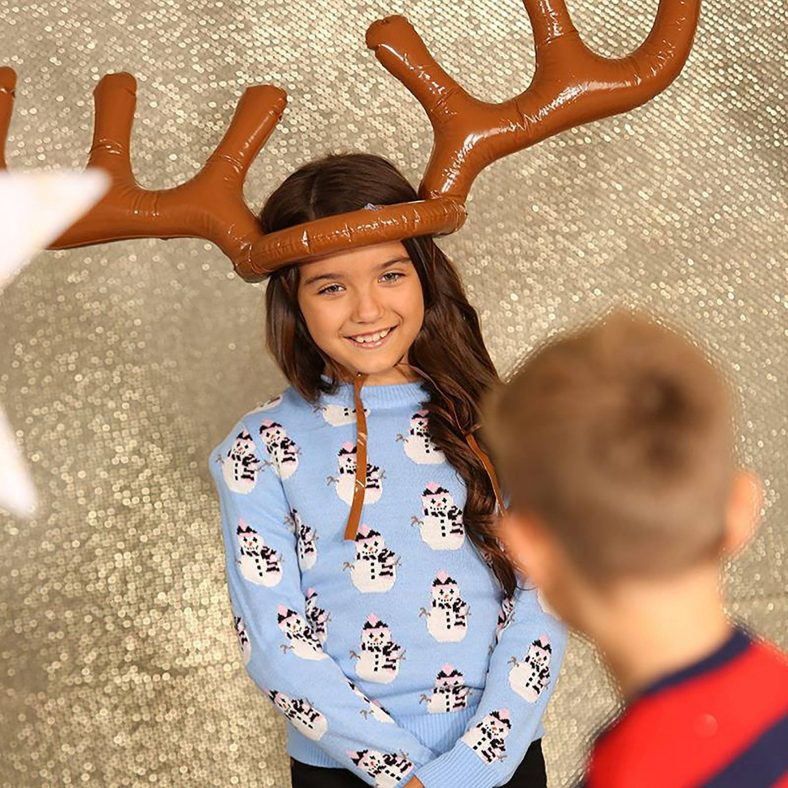 christmas party inflatable reindeer game brown christmas party inflatable reindeer game 13430415687779