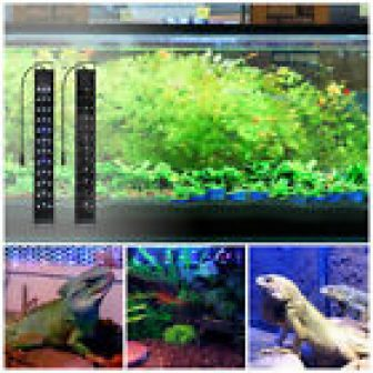 Aquarium Full Spectrum Multi-Color RGB LED Light For Salt Fresh Water Fish...