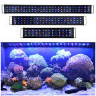 Aquarium Full Spectrum Multi-Color RGB LED Light Salt Fresh Water Fish Tank...