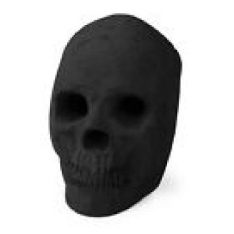 Ceramic Skull | Fireproof Decor for Fire Pits & Fireplaces | 1-Pack