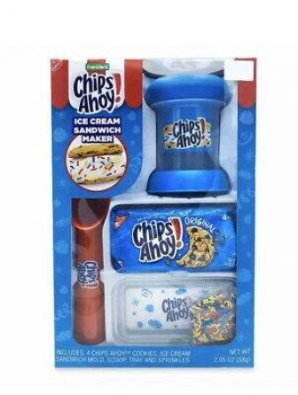 Chips Ahoy Ice Cream Sandwich Maker Set Frankford Chocolate Chip Gift Box...