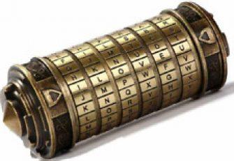 Da Vinci Code Mini Cryptex Valentine's Day Interesting Romantic Birthday Gifts