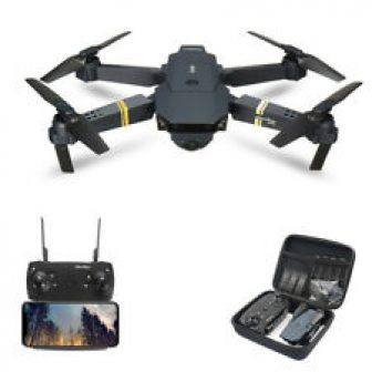 Drone X Pro Foldable Quadcopter WIFI FPV 1080P Wide-Angle HD Camera Batteries...