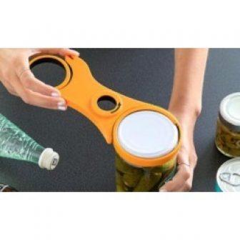 Five-in-One Jar Opener: One
