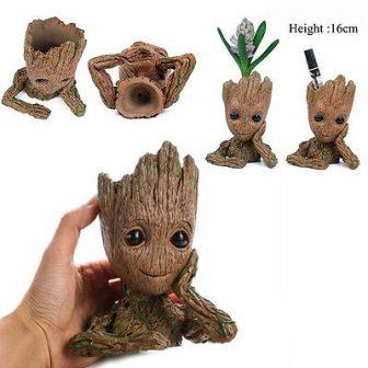 Guardians of The Galaxy Vol. 2 Baby Groot Figure Flowerpot Pen Pot...