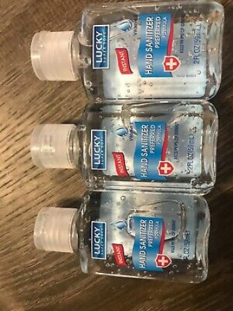 Hand Sanitizer Lucky 2 oz ( 3 Pack)