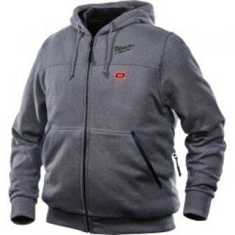M12™ Gray Heated Hoodie, 2X-Large (Hoodie Only)