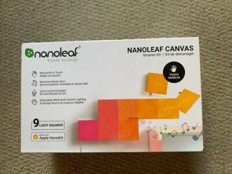 NEW!! NANOLEAF Canvas Smarter Kit w/9 Panels, Links & Power Supply (8030)...