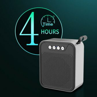 Pocket Bluetooth Speakers Wireless Music Player W/ Built-in Microphone Portable