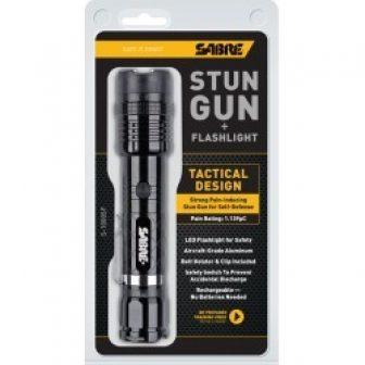Sabre Stun Gun with Flashlight