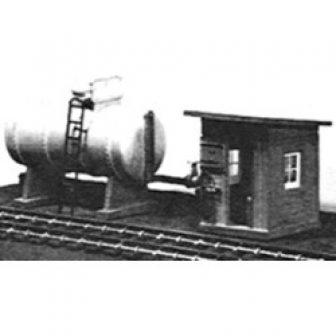 Stewart 107 HO Oil Storage Tank/Pump House