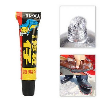 Super Adhesive Leather Fixer Best for Shoe Repair Glue Sole Boots Rubber...