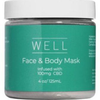 Well CBD Face & Body Mask 4 oz